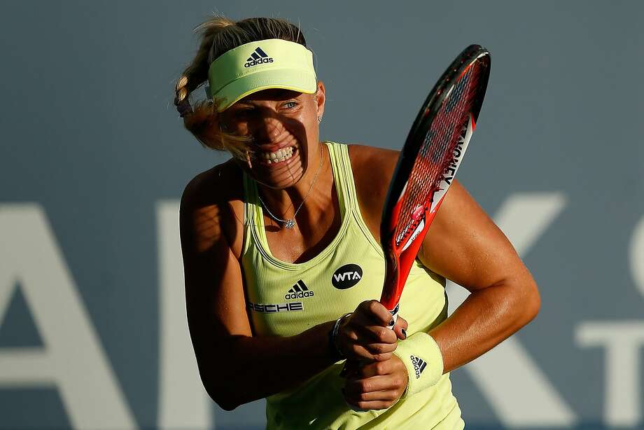 Germany's Angelique Kerber, who lost to Serena Williams in the 2014 Bank of the West Classic, beat Russia's Daria Gavrilova on Tuesday night in her first match of 2015 at Stanford. Photo: Lachlan Cunningham, Getty Images