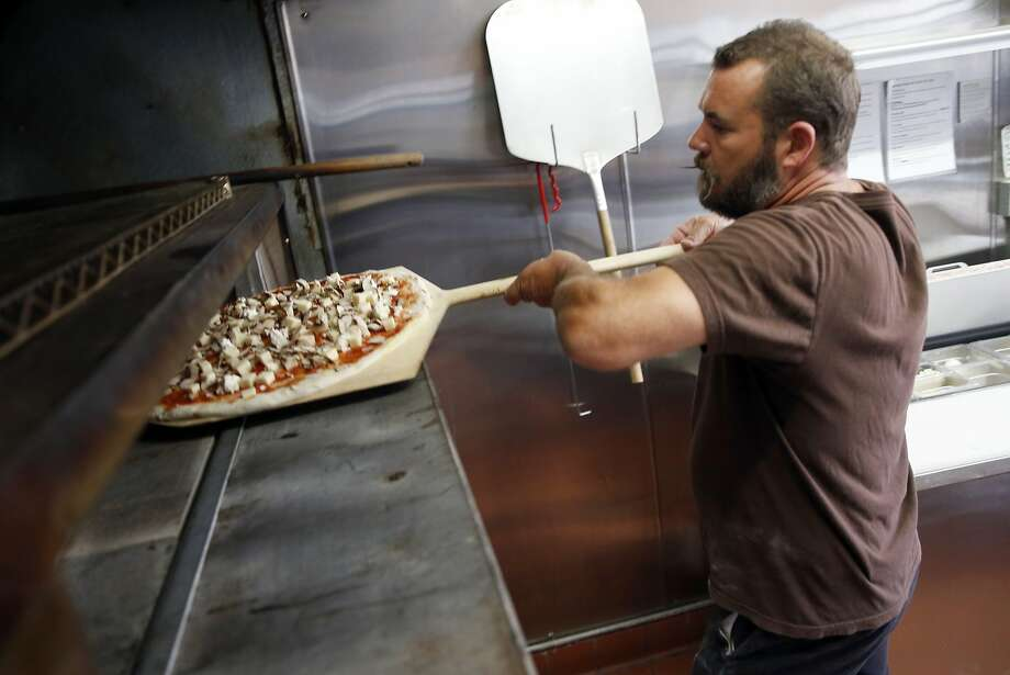 James Whitehead at Fist of Flour Pizza in Oakland, Calif., on Wednesday, Aug. 5, 2015. Photo: Scott Strazzante, The Chronicle
