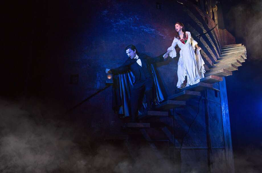 A younger phantom will pursue singer Christine Daaé on the San Francisco stage. Photo: Matthew Murphy