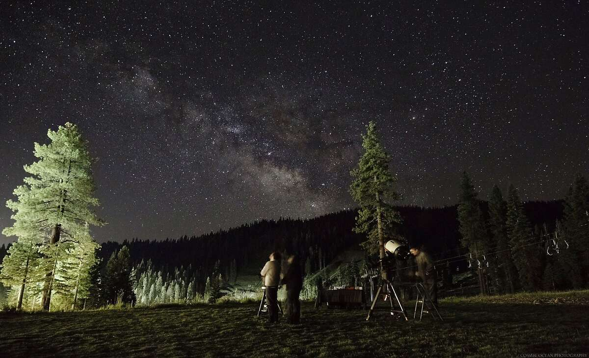 Tahoe Star Tours offers its summer stargazing series Friday evenings at the Backyard of the Ritz-Carlton Lake Tahoe resort.