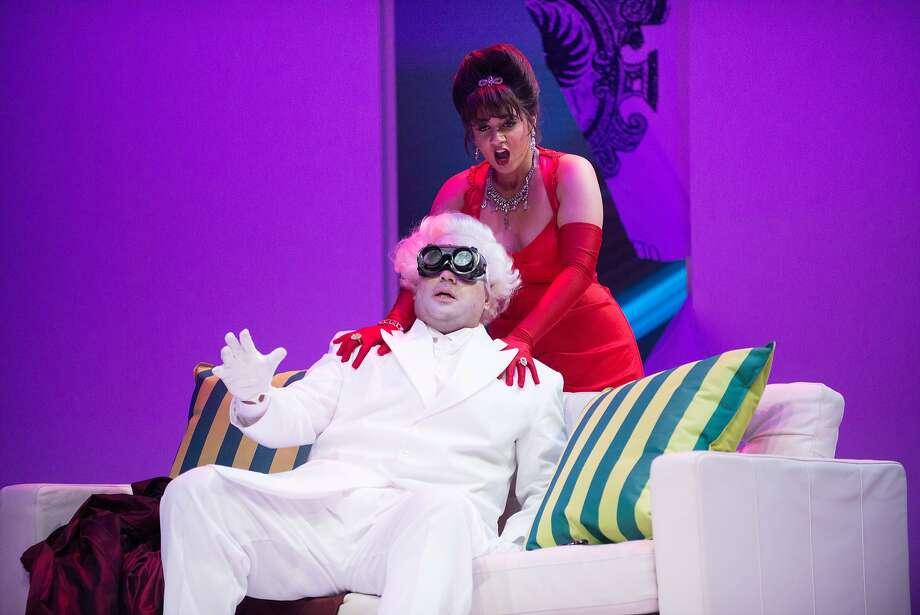 Amina Edris and James Ioelu sing Donizetti. Photo: Kristen Loken