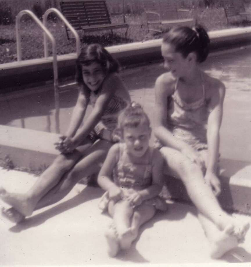 "Starr, Marlene and Shelley Caldes early 1960s. ""We still love to chill out at the pool!"" Caldes shares. Photo: Shelley Caldes"