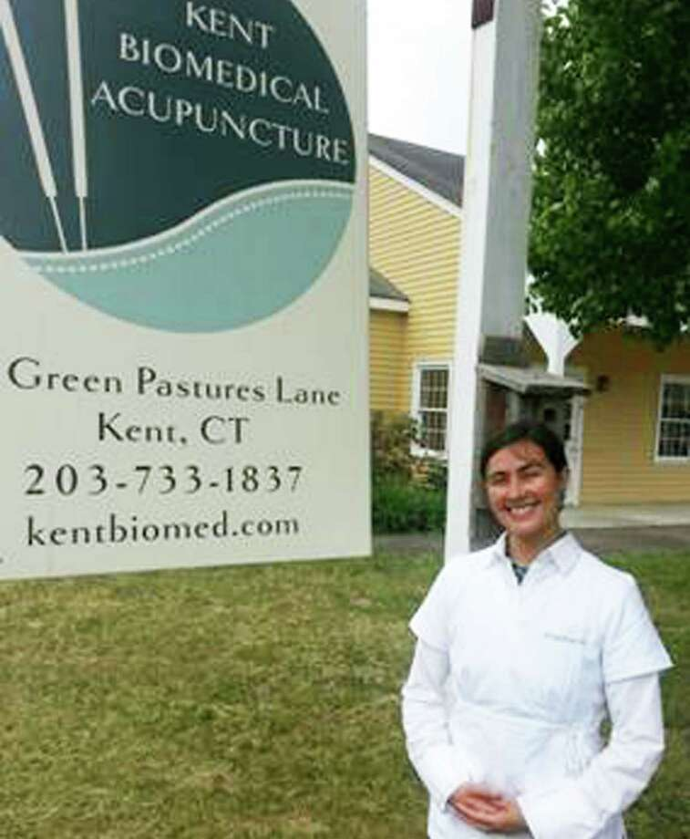 Stephanie Mauri has launched Kent Biomedical Acupuncture. Photo: Contributed Photo / The News-Times Contributed