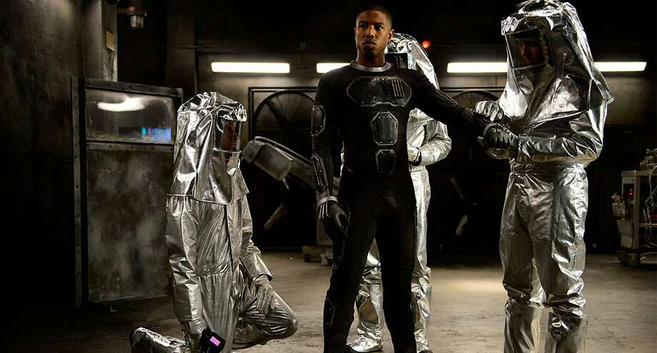 "Michael B. Jordan plays Johnny Storm, a.k.a. the Human Torch, in ""Fantastic Four."" Photo: Handout, McClatchy-Tribune News Service"