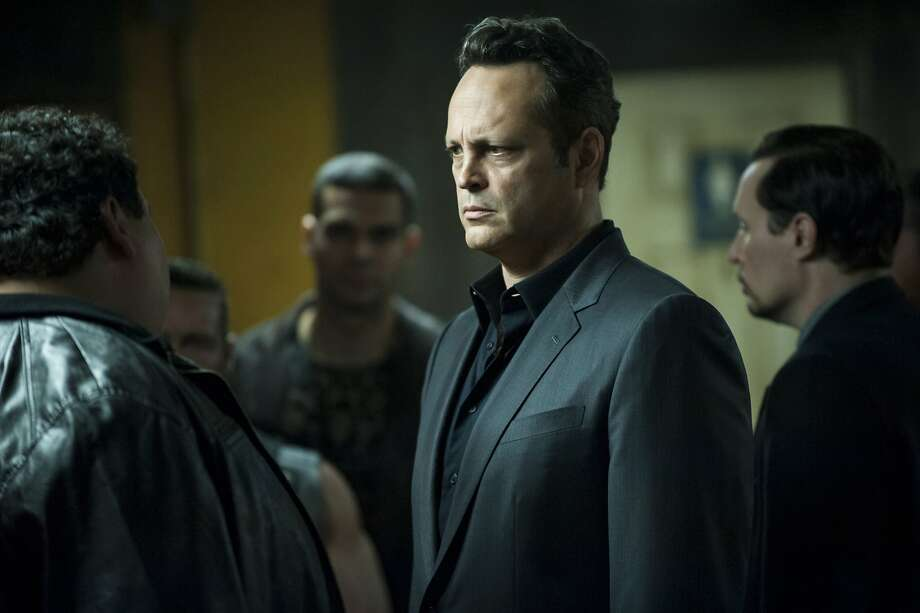 "Vince Vaughn in season two of ""True Detective."" Photo: Lacey Terrell, Associated Press"