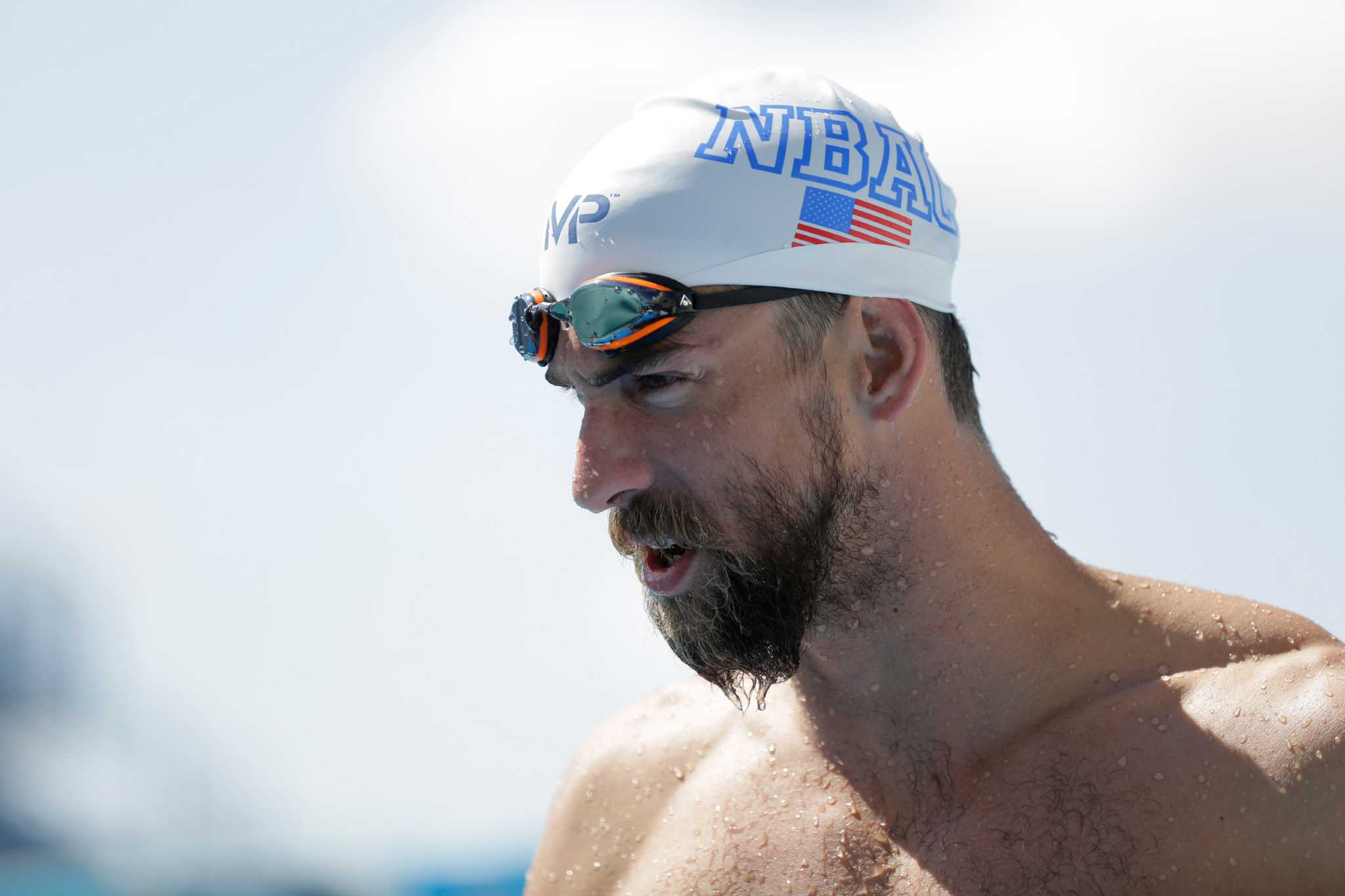 9fe776971d952 Phelps takes swimming comeback tour to San Antonio ...