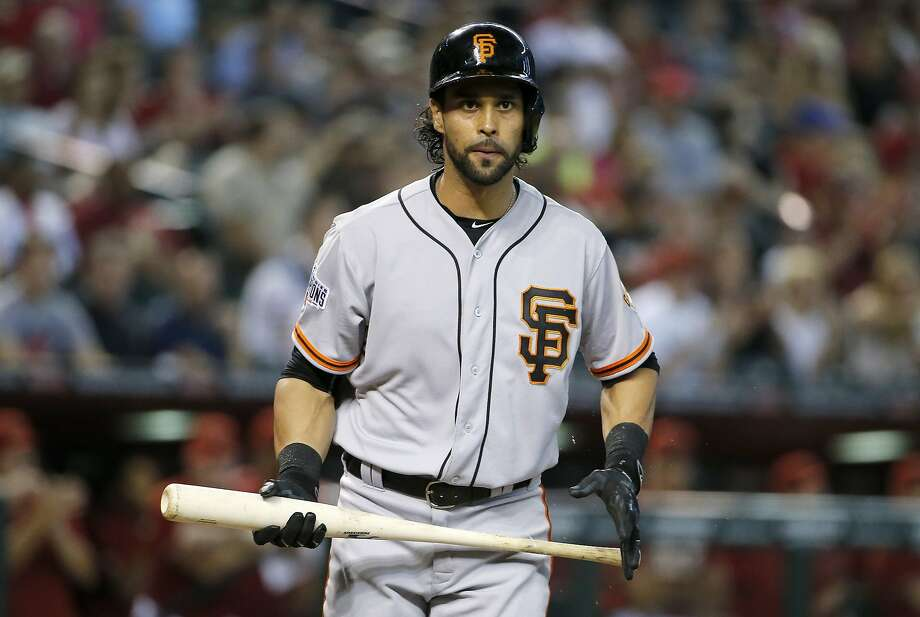 San Francisco Giants' Angel Pagan went on the 15 day disabled list. Photo: Ross D. Franklin, Associated Press