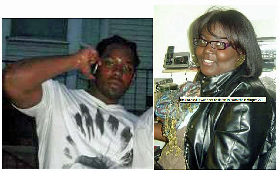 Iroquois Alston and Rickita Smalls, who were shot and killed on Aug. 6, 2011 on Avenue B. A $50,000 reward is being offered to help find their killer, or killers. Photo: Norwalk Police Department Photo