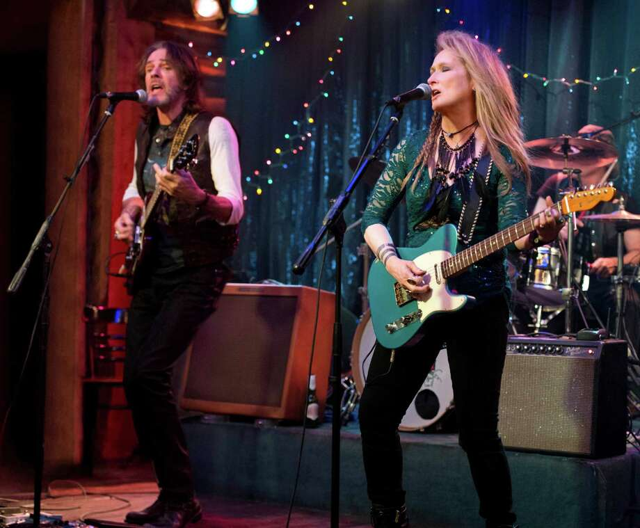 "Rick Springfield and Meryl Streep co-star in ""Ricki and the Flash."" Photo: Sony Pictures / Sony Pictures"