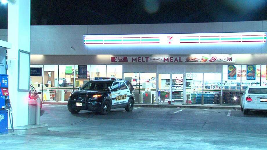 A man fled from police after being cuaght trying to rob a 7-Eleven on the North Side Thursday morning. Photo: 21 Pro Video