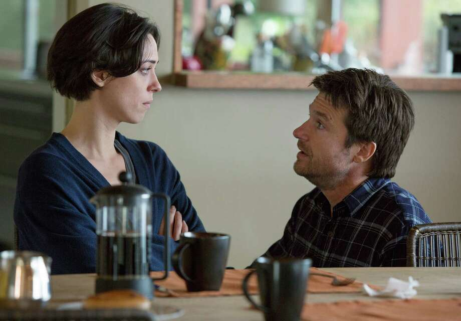 "This photo provided by STX Productions LLC shows, Rebecca Hall, left, and Jason Bateman, in a scene from the film, ""The Gift."" The movie opens in US. theaters on Aug. 7, 2015.  (Matt Kennedy/STX Productions, LLC via AP) Photo: Matt Kennedy, HONS / STX Productions, LLC"