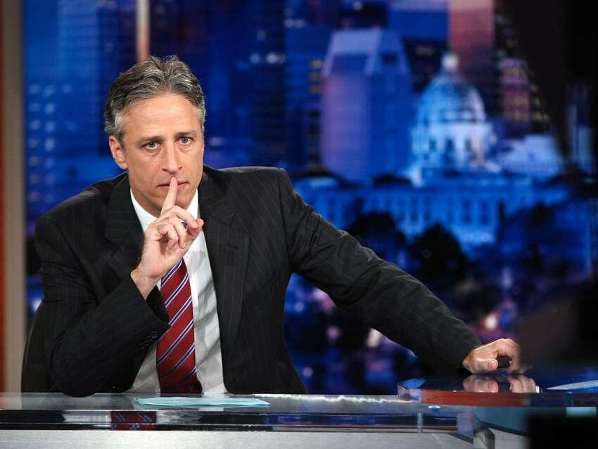 1. Armani suits worn by Jon Stewart on