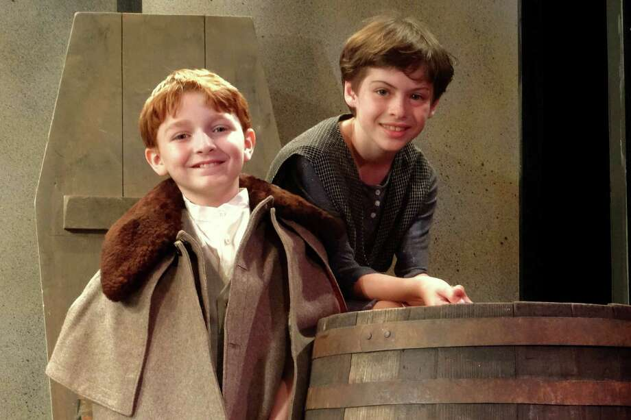 "Michael McArthur of Stamford and Christopher Messis of Old Greenwich will share the title role in ""Oliver"" in Curtain Call's Summer Youth Theatre production of the classic musical. These two actors will alternate performances through Aug. 15, during the show's run at the Kweskin Theatre. Photo: Contributed / / Stamford Advocate Contributed"