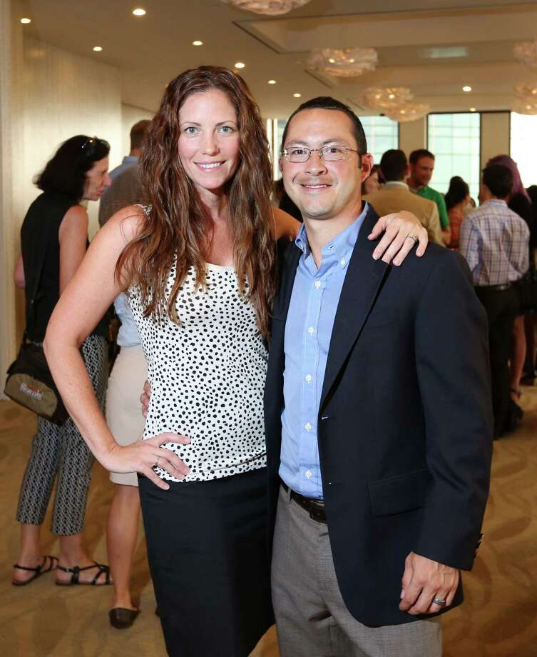 Meredith and Joseph Gomez  Photo: Jon Shapley, Houston Chronicle / © 2015 Houston Chronicle