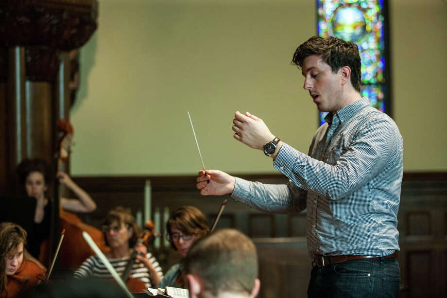 A recent rehearsal of the Chamber Orchestra of Fairfield. Its inaugural concert, a scholarship benefit, will take place Saturday at First Church Congregational. Photo: Marc Jacobs Photography / Marc Jacobs Photography / Fairfield Citizen