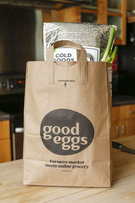 Good Eggs delivery Photo: Russell Yip/The Chronicle