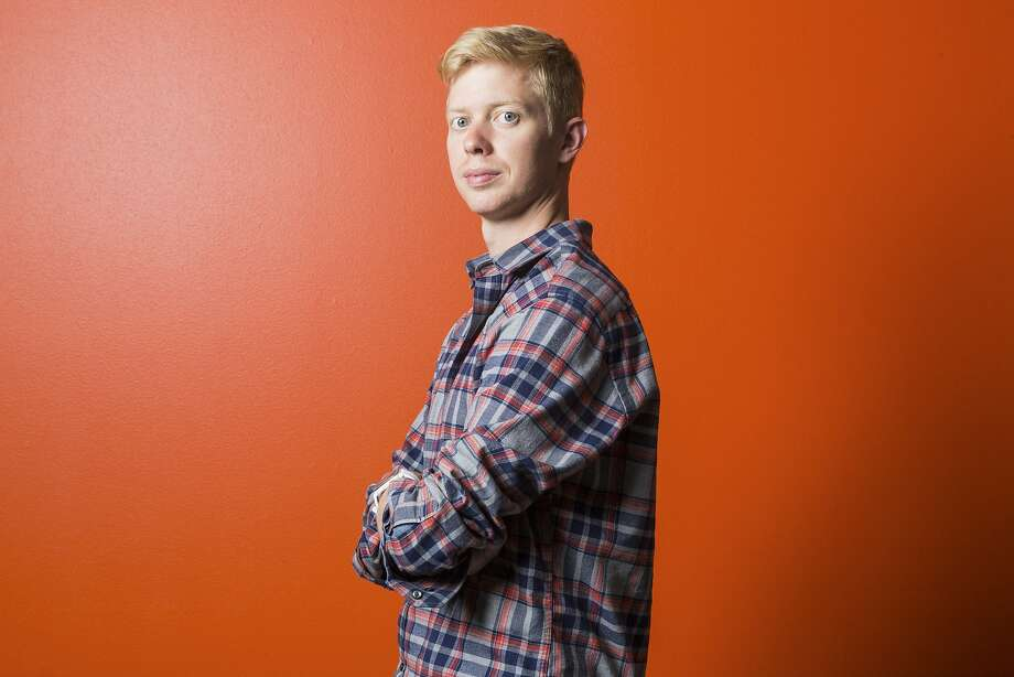 "Steve Huffman, the new chief executive of Reddit, in San Francisco, July 16, 2015. Huffman admitted that he used his administrative powers to edit user comments that were critical of him on r/The_Donald - a popular, pro-Trump forum (or ""subreddit""). Photo: Jason Henry, New York Times"