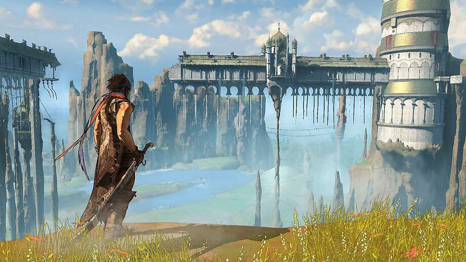 """Prince of Persia"" has huge open environments. Photo: Ubisoft"