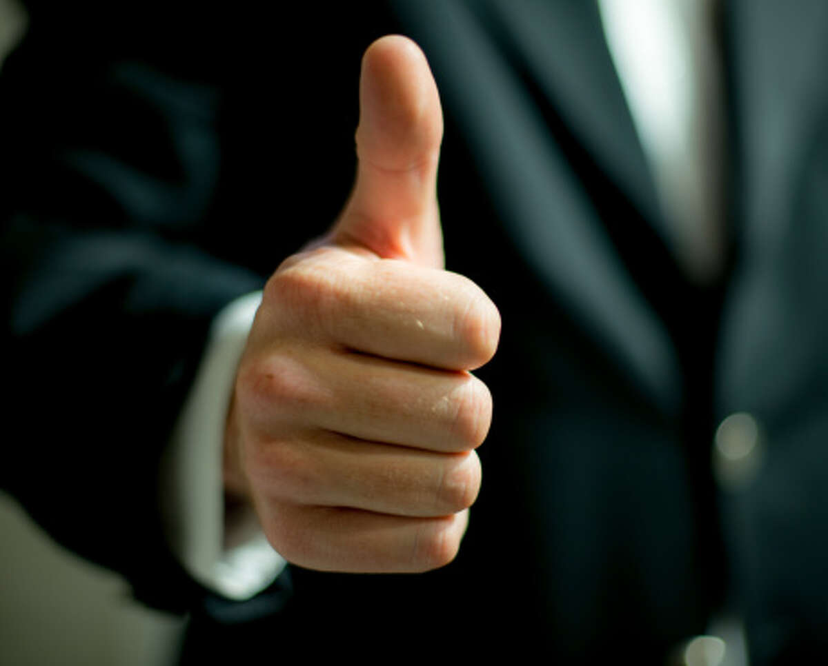 3. Throwing a thumbs-up In a lot of countries, especially in the Middle East, Latin America, Western Africa, Russia, and Greece, a thumbs-up basically has the same meaning as holding up a middle finger does for Americans.