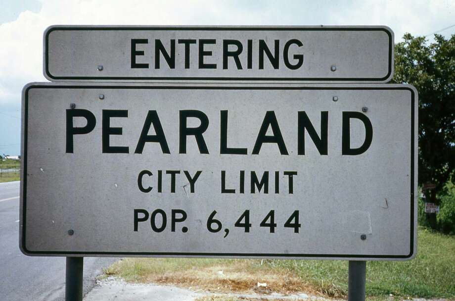 The Pearland Historical Society shared these photos with the Houston Chronicle of the town of Pearland as seen in 1972, just after a boom in development hit the area.Pearland's latest population estimate was 112,300 within its city limits, with another 25,000 coming from extra-territorial areas.  Photo: City Of Pearland / Pearland Historical Society