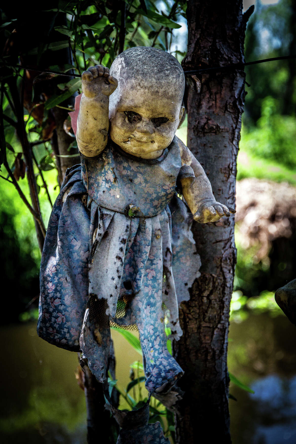 It all began when Barrera said he found a drowned child whom he could not save. Days later, he found a doll in the same place he found the drowned little girl.