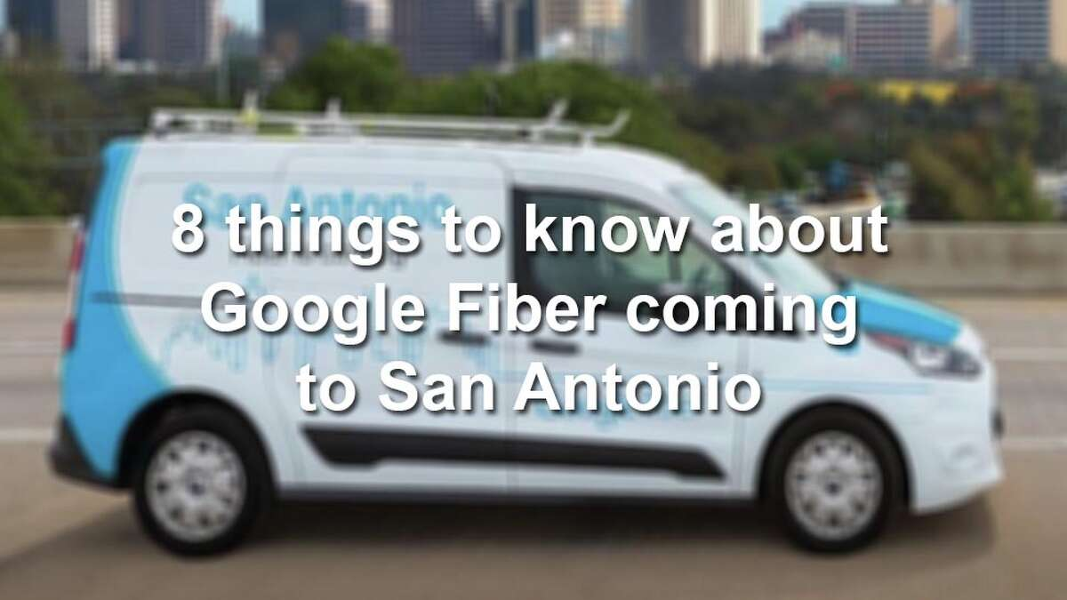 Scroll through the gallery for eight things you need to know about Google Fiber coming to the Alamo City.