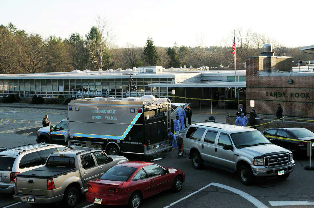 Photographs of Sandy Hook Elementary School in Newtown, Conn. from the full school shooting reports that were released by the Connecticut State Police on Friday, Dec. 27, 2013.