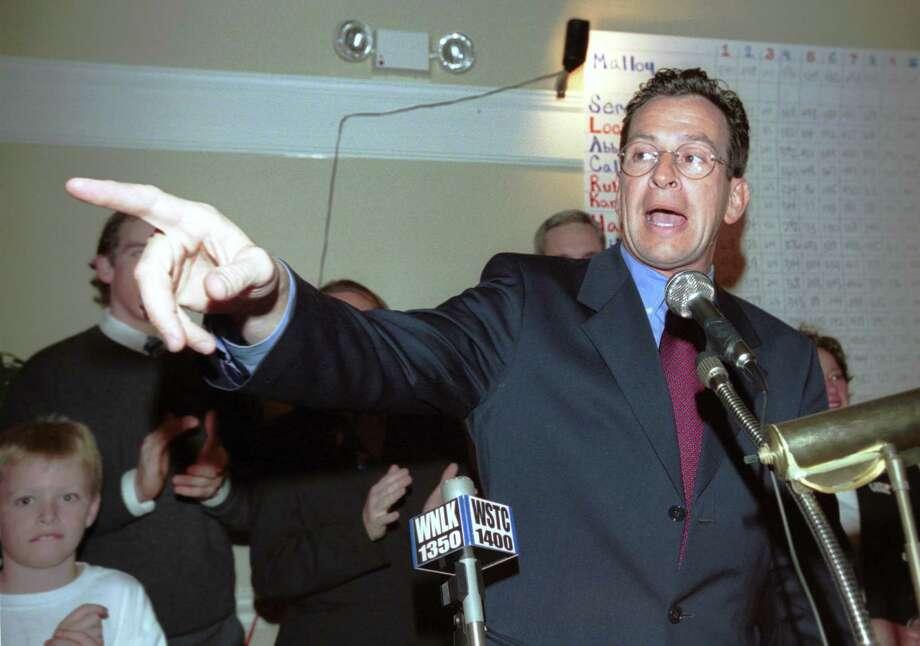 Dannel Malloy, election night 2010 Photo: Paul Desmarais / ST