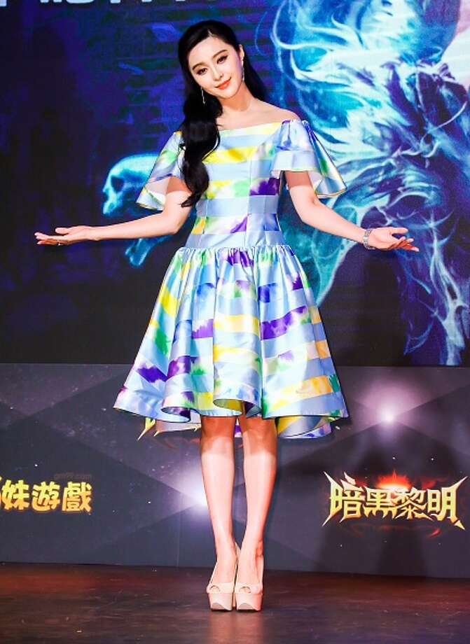 See some of the stars how made the Hollywood list.   Fan Bingbing, actress Photo: TPG, Getty Images