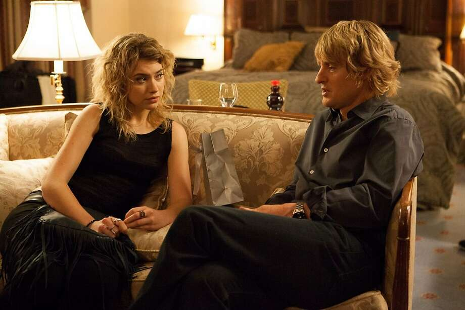 "Imogen Poots plays a call girl who hooks up with Owen Wilson as a producer in ""She's Funny That Way,"" a slight comedy devoid of real human emotion. Photo: Clarius Entertainment"