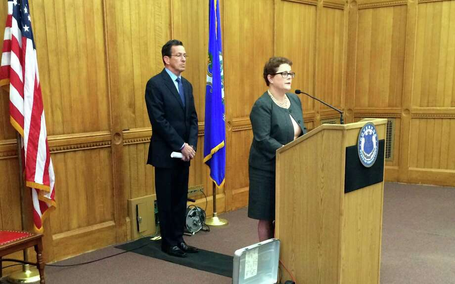 On March 20, 2015, Gov. Dannel P. Malloy announced Katharine Wade as commissioner of the Connecticut Insurance Department, with Wade a former executive with Bloomfield, Conn.-based Cigna. Photo: Contributed Photo / Contributed Photo / Connecticut Post Contributed