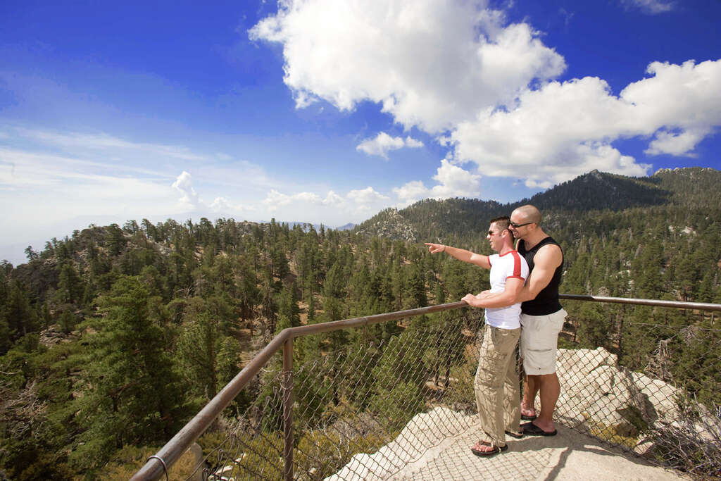 Palm Springs also offers natural beauty for those looking to escape the party scene.  Photo: Visitgaypalmsprings.com