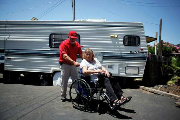 Residents of Solano County's oldest trailer park face