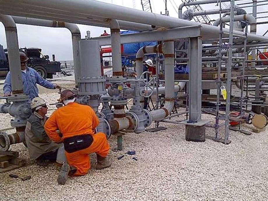 Targa Resources' profits fell 58 percent to $45.8 million Photo: NA, Targa Resources