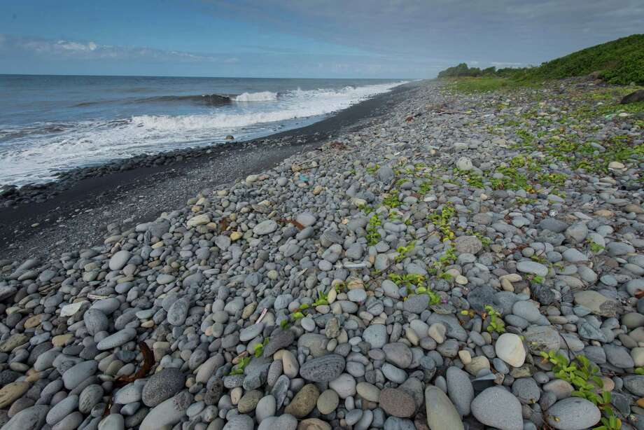 The beach of Saint-Andre, Reunion Island, Thursday, Aug  6, 2015. Photo: Fabrice Wislez / AP