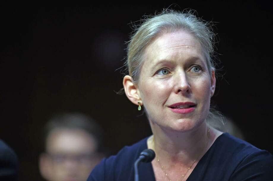 WASHINGTON, DC - JULY 29: Sen. Kirsten Gillibrand (D-NY) testifies during a hearing of the Senate Health, Education, Labor, and Pensions Committee on July 29, 2015 in Washington, DC. The committee is examining the reauthorization of the Higher Education Act, focusing on combating campus sexual assault. (Photo by Astrid Riecken/Getty Images) ORG XMIT: 567529127 Photo: Astrid Riecken / 2015 Getty Images