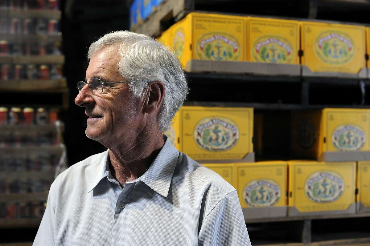 Brewmaster Mark Carpenter poses for a portrait at the Anchor Brewery in San Francisco, CA Thursday, August 6, 2015.