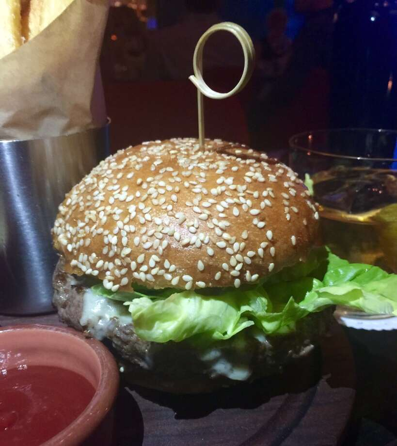 Viking Room at Cafe du Nord: Another burger to add to your must-try list. It's layered with lettuce, pi9ckles secret sauce and sharp cheddar cheese ($16.50).