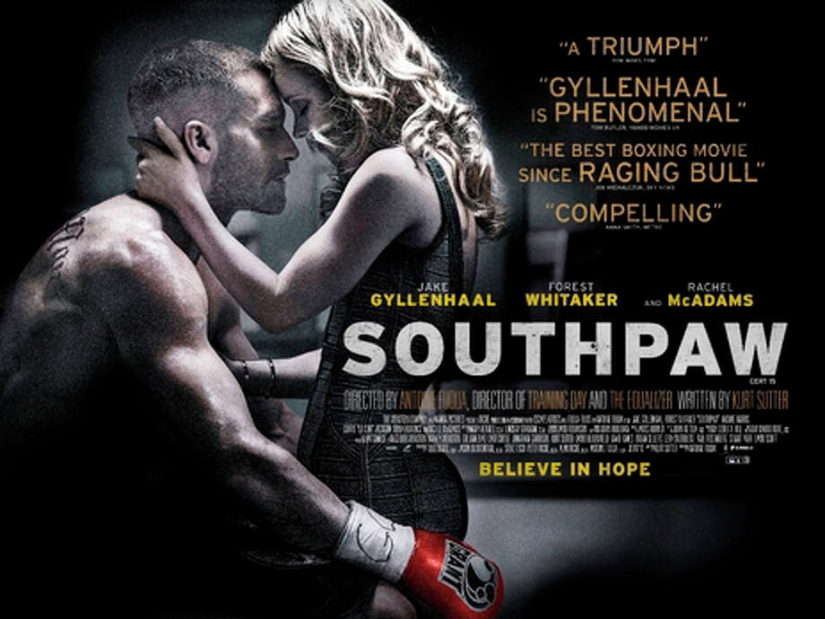 "Jake Gyllenhaal stars as a boxer battling for a comeback in the new movie, ""Southpaw."" Photo: Contributed / Contributed Photo / Westport News"