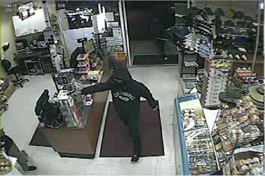 This man pistol-robbed a clerk at a Santa Rosa clerk before escaping with a second assailant, police say Photo: Santa Rosa Police