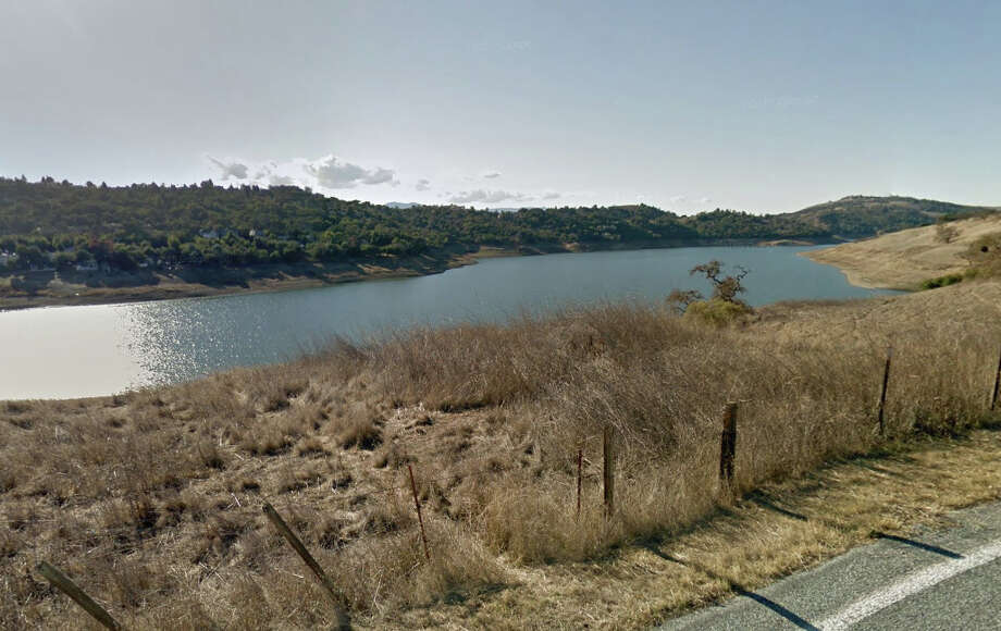 A man was killed by a boat on Anderson Lake near Morgan Hill Thursday evening. Photo: Google Maps