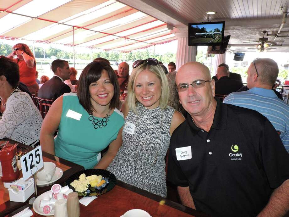 Were you Seen at the Second Annual Track Networking Breakfast co-hosted by the Rensselaer County Regional Chamber of Commerce and the Saratoga County Chamber of Commerce and held at the Saratoga Race Course on Friday, Aug. 7, 2015? Photo: Rensselaer County Regional Chamber Of Commerce
