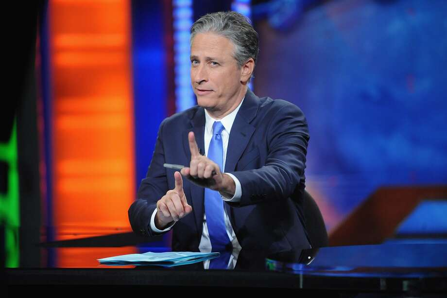 "Jon Stewart hosts ""The Daily Show with Jon Stewart"" #JonVoyage on August 6, 2015 in New York City.  (Photo by Brad Barket/Getty Images for Comedy Central) Photo: Brad Barket, Getty Images For Comedy Central"