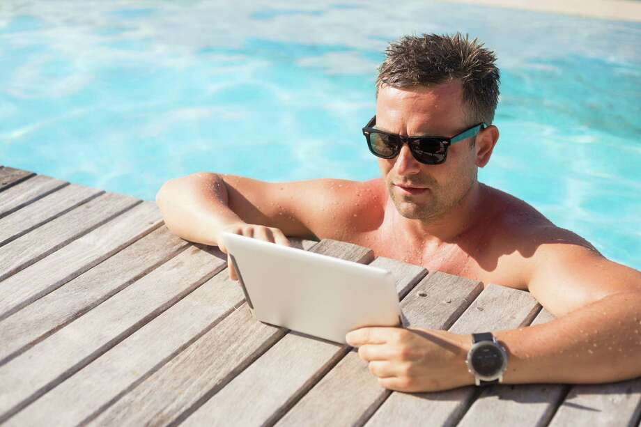 Fewer Americans are finding time away from work to actually spend all the vacation time they are accruing.Check out the 20 best jobs for a healthy work-life balance... / Kaspars Grinvalds - Fotolia