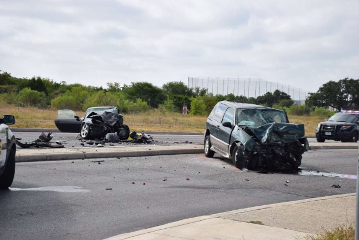 A 45-year-old man was killed Aug. 7 in a head-on crash after losing control of his Porsche on the North Side.