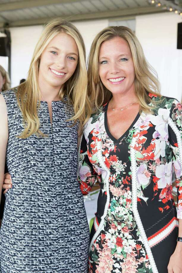 Kelsey Fenger and Laura Fenger at the Giant Steps Charity Classic Six Bar & Gala on August 1, 2015. Photo: Drew Altizer, Drew Altizer Photography/SFWIRE, Drew Altizer Photography / DREW ALTIZER PHOTOGRAPHY