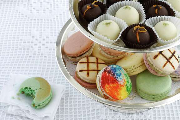 Tea time-worthy edibles infused with cannabis including Cheffettes truffles, and Madame Munchie macarons.