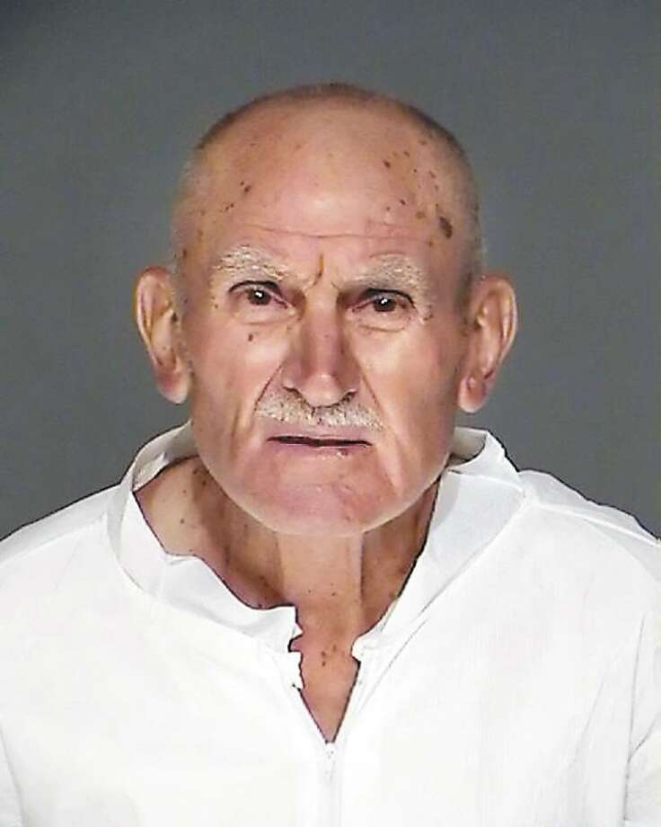 Gerardo Lombardi, 77, on trial for killing his ex-daughter-in-law, was convicted of first-degree manslaughter Friday in state Superior Court in Stamford. The photo is courtesy of the Greenwich Police Department and was taken in September 2008 after his arrest. Photo: File Photo / Greenwich Time File Photo