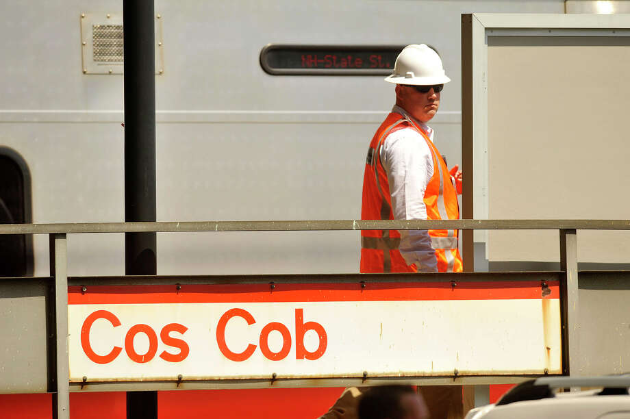 FILE PHOTO - The Metropolitan Transportation Authority is investigating the death of a 17-year-old male hit and killed by a train at Cos Cob station at 12:01 a.m. Sunday, June 18, 2017. Photo: Jason Rearick / Hearst Connecticut Media / Stamford Advocate