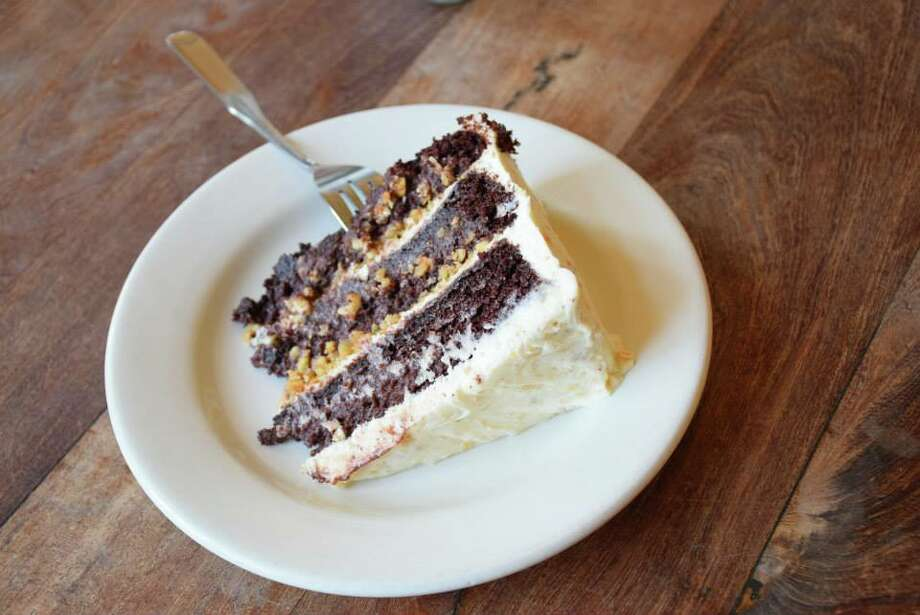 Liberty Bar is offering a made-from-scratch hazlenut tres leches for a limited time. Photo: Liberty Bar